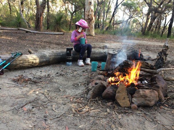Ridge Top Campground, Great North Walk, Berowra Waters.