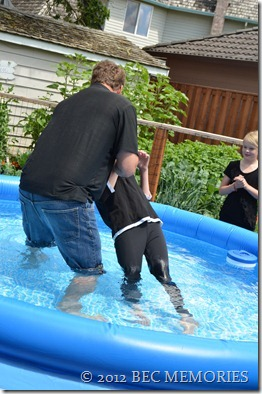 Missy's Baptism