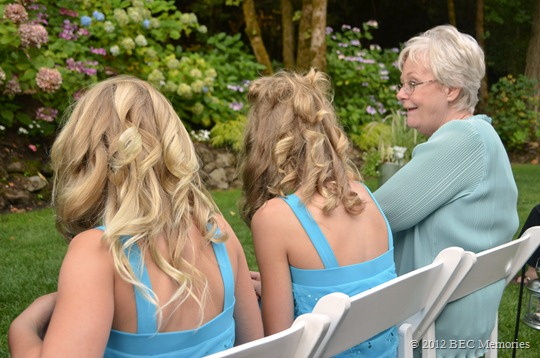 Wedding Pictures - Grammy & Girls