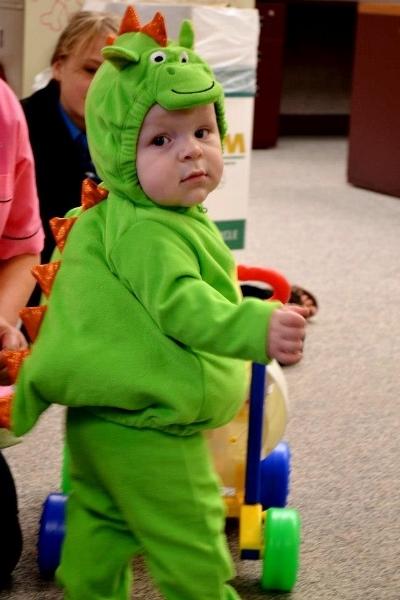 2012 In Review - Dinosaur boy!