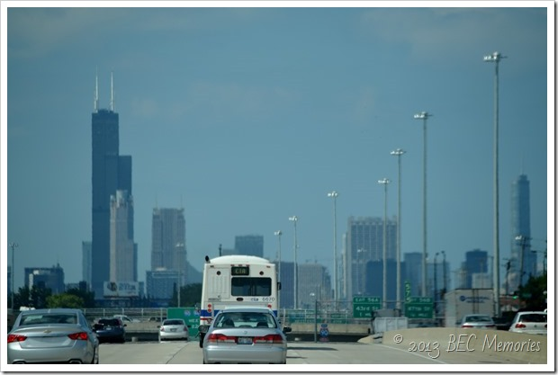 Driving Through Chicago