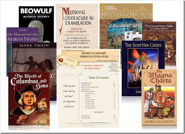 Beautiful Feet Medieval History Senior High Study Pack