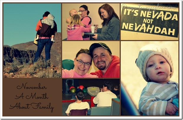2013 Year in Review:  November 2013 - Family