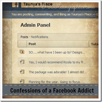 Confessions of a Facebook Addict