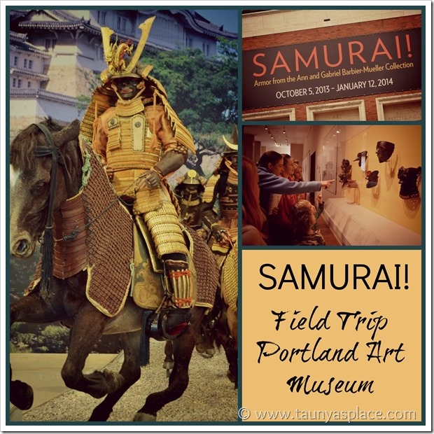 Samurai at Portland Art Museum Field Trip