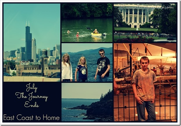 2013 Year in Review:  July 2013 - The Grand Adventure Ends.  Traveling Home along I-90