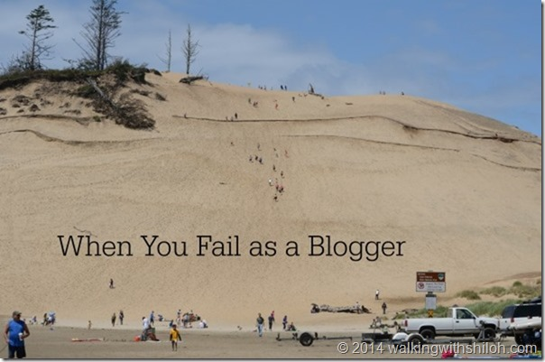 When You Fail As a Blogger