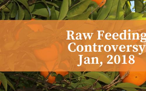Raw feeding controversy. orange trees