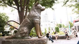 Hatchi Statue Japan