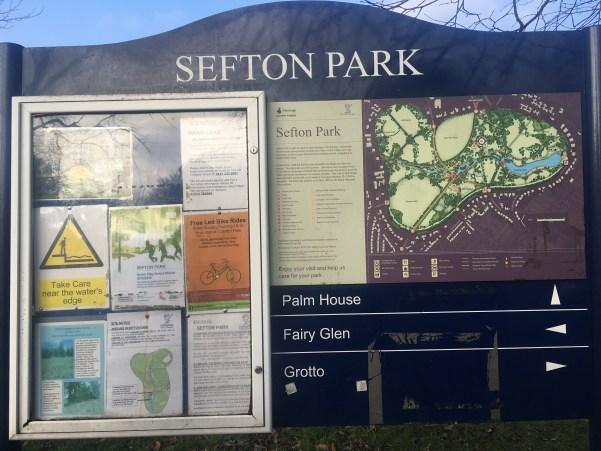 Sefton Park Map