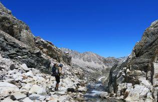 540 Evolution Valley to Le Conte Canyon