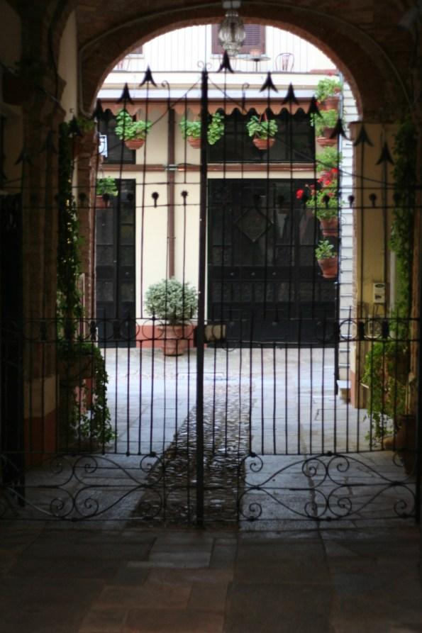 Nizza Monferrato Courtyard