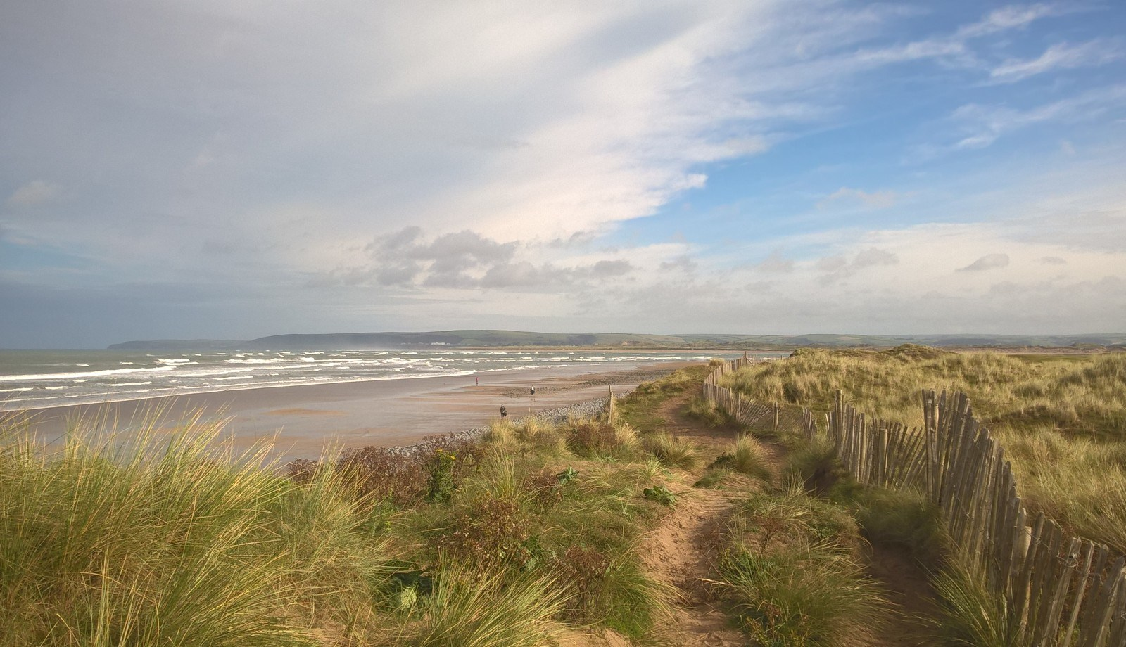 Northam Burrows, North Devon, UK