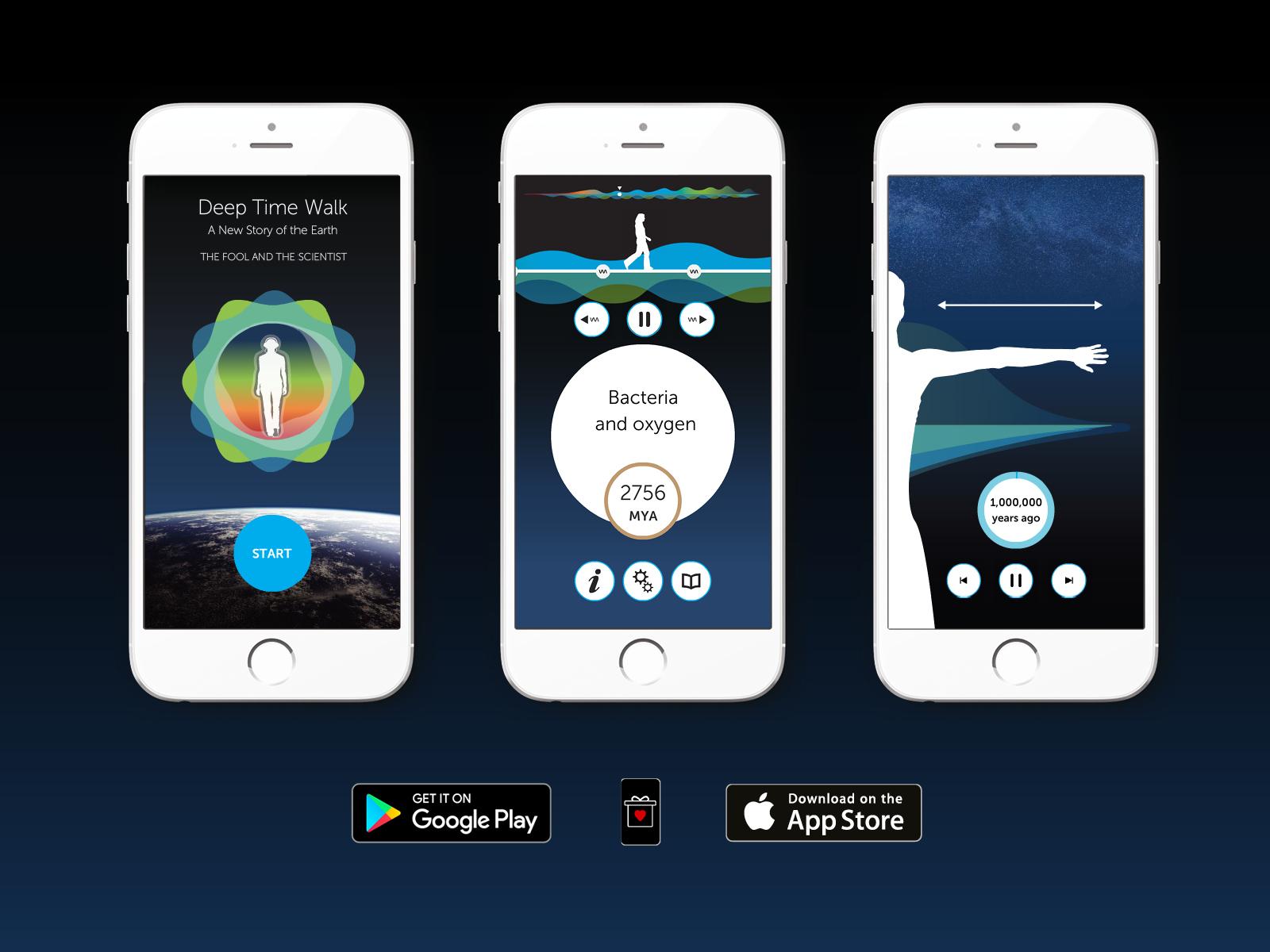 Deep Time Walk App