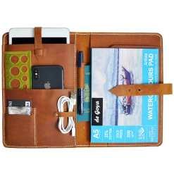 Leather Organizer for Mini iPad
