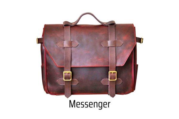 walklo leather satchel and messenger bag