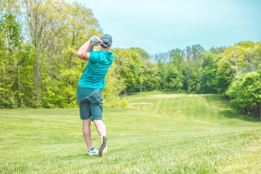 """Laying Up"" in Golf & Investing"