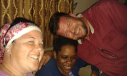 Yvonne still suffers with the effects of meningitis but she is getting stronger everyday!