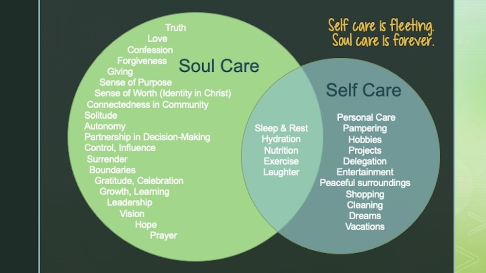 Thriving Caregivers Prioritize Soul Care
