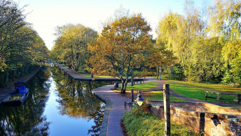 Birmingham University The Vale Canals