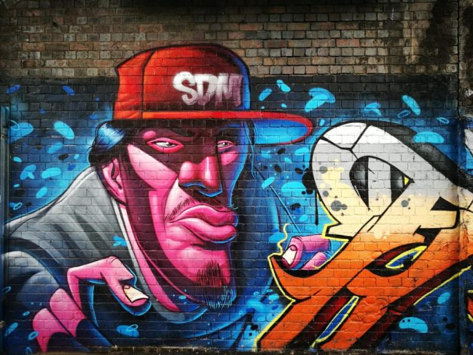 Birmingham Digbeth Graffiti Art 10