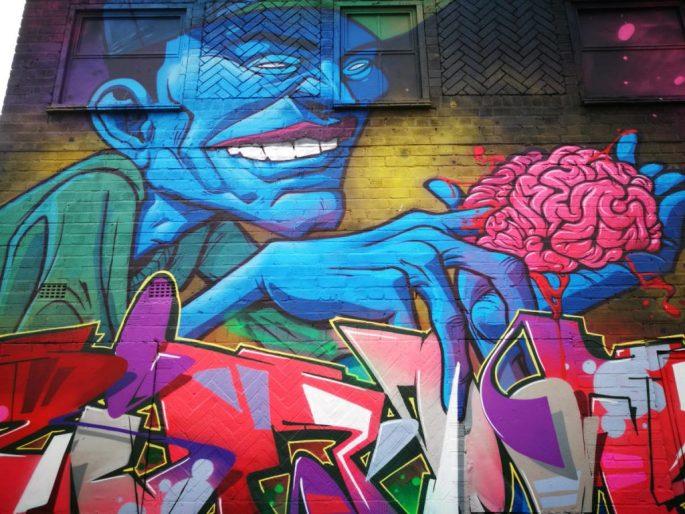 Birmingham Digbeth Graffiti Art 17