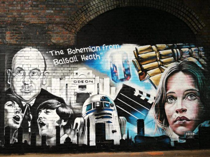 Birmingham Digbeth Graffiti Art 24