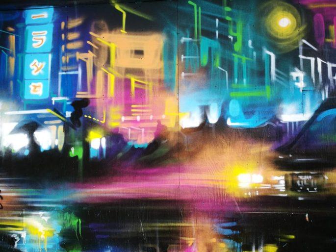 Birmingham Digbeth Graffiti Art 40