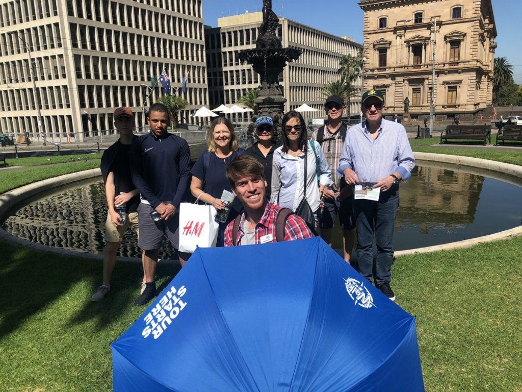 Hugo's 3pm Melbourne Free Walking Tour
