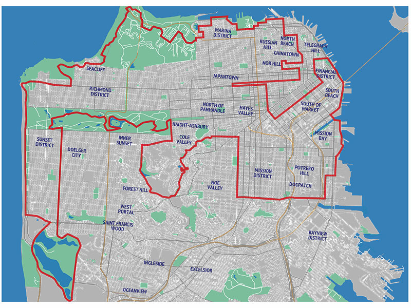 map-49-mile walking route