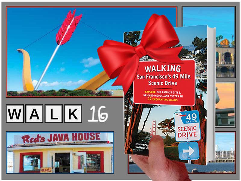 Holiday Gift — SF Walking Book - Walk 16