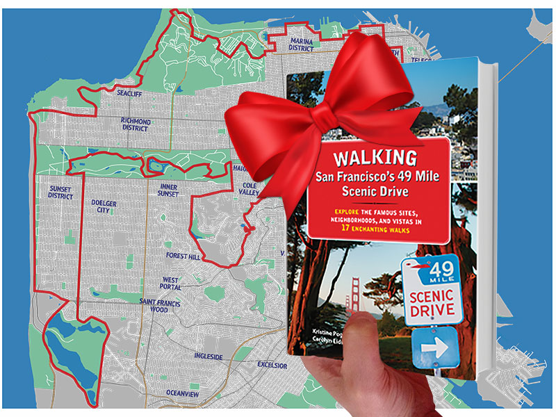 Holiday Gift — SF Walking Book - Route Map