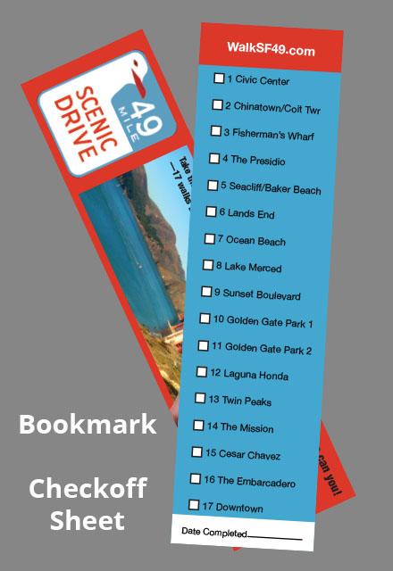 49 mile drive bookmark check-off