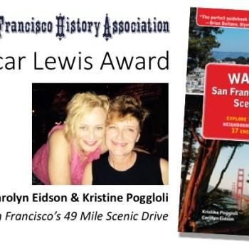 San Francisco Historical Association Oscar Lewis Award