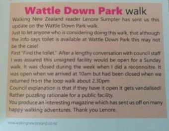 Wattle Downs Public Toilets