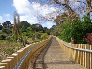 Unsworth Reserve Boardwalk and cycle way © 2011-2013 Unleashed Ventures Limited