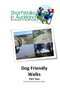 P2 Dog friendly walks in Auckland