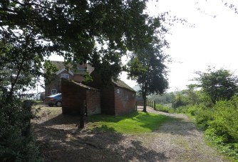Cottages for hire on the Roman Road into Dunwich