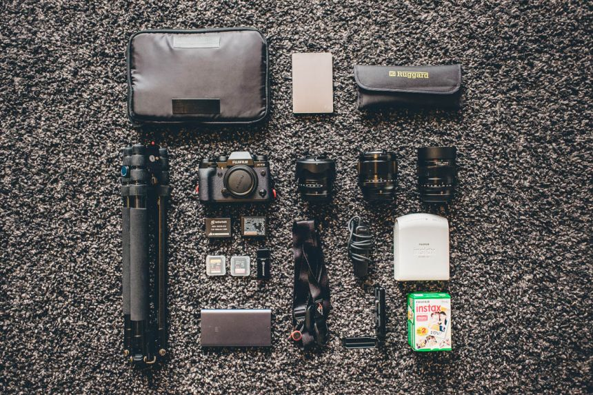 Tims photography gear packing list