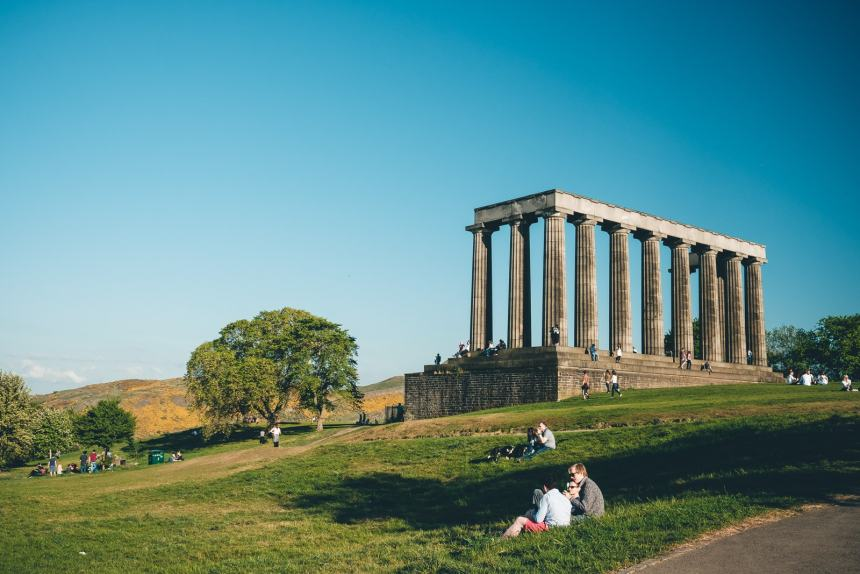 Edinburgh Calton Hill National Monument