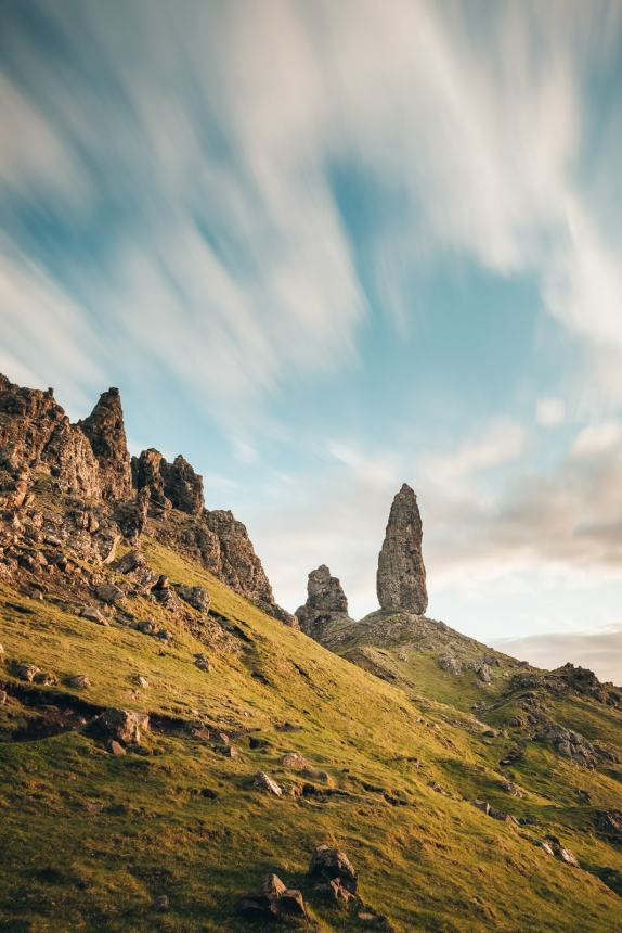 Isle of Skye Old Man of Storr Sunrise Long Exposure