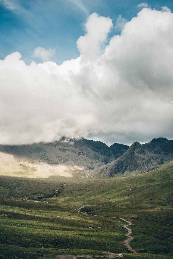 Isle of Skye Path to Fairy Pools