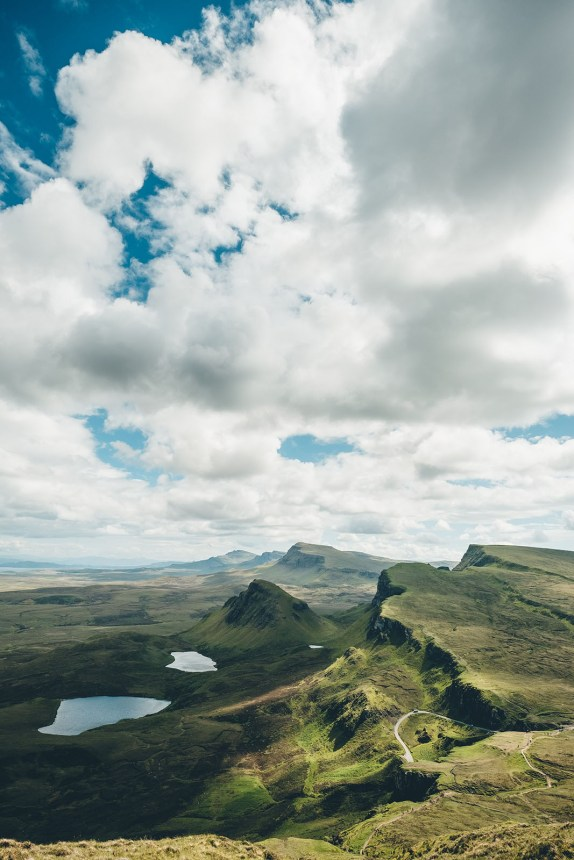 Isle of Skye Quiraing Overview