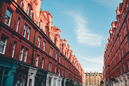 London Chiltern Street Red Buildings min