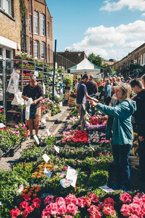 London Colombia Road Flower Market min