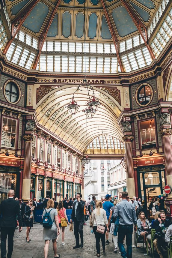 London Leadenhall Market min