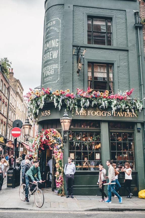 London Mr Foggs Tavern Beautiful Pub min