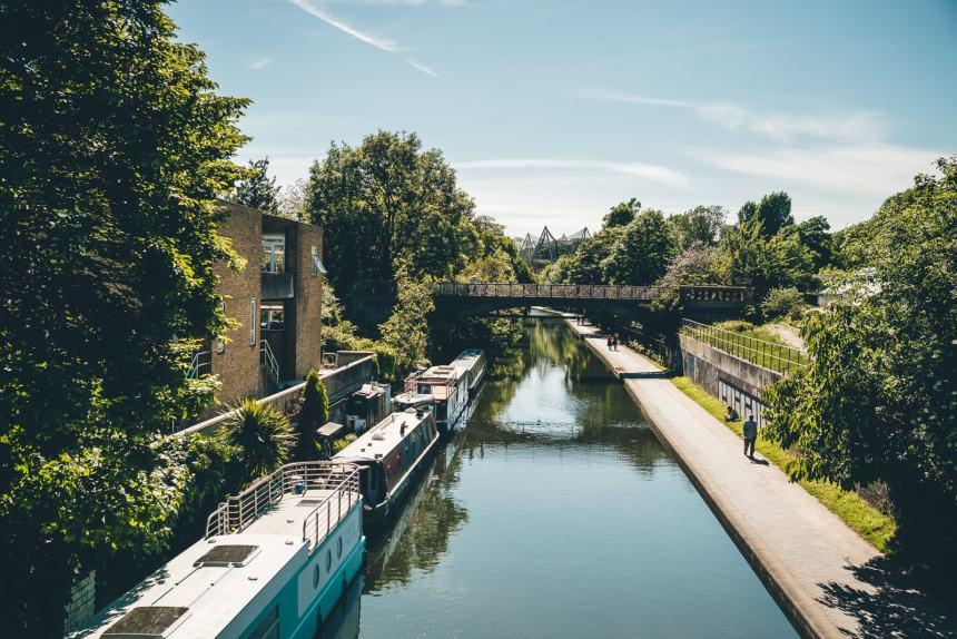 London Regents Canal min