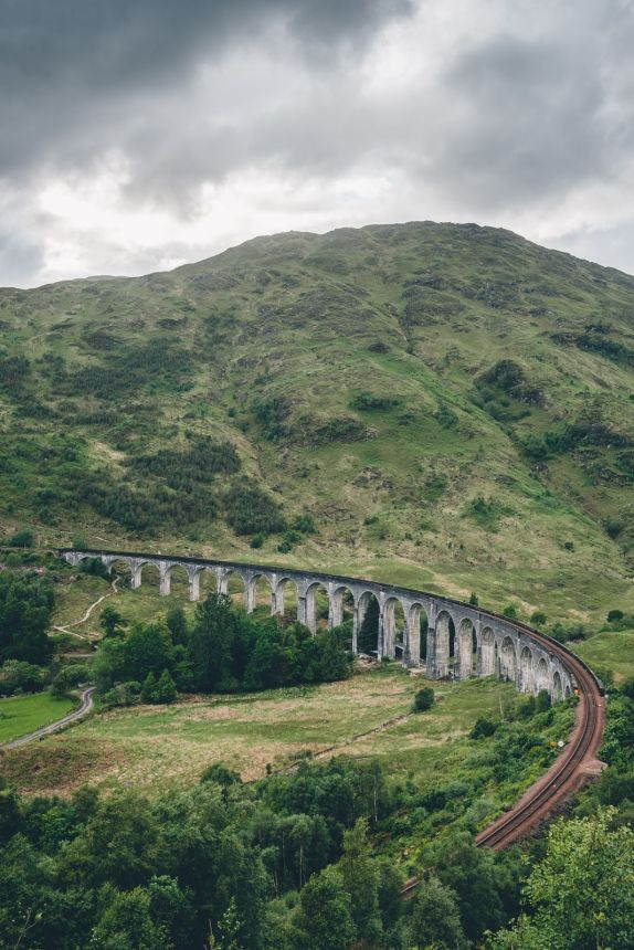 Scotland Fort William Glenfinnan Viaduct