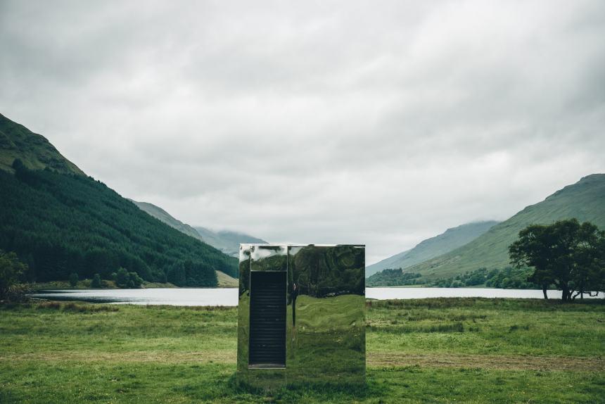 Scotland Mirror Cabin